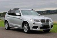 2012 BMW X3 3.0 XDRIVE35D M SPORT 5d AUTO 309 BHP £22990.00