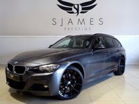 USED 2015 65 BMW 3 SERIES 3.0 335D XDRIVE M SPORT TOURING 5d AUTO 308 BHP