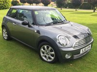 USED 2010 10 MINI HATCH COOPER 1.6 COOPER GRAPHITE 3d 118 BHP **FULL LEATHER**12 MTH WARR