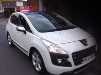 USED 2012 62 PEUGEOT 3008 2.0 ALLURE HDI 5d 150 BHP Low Mileage.......Panoramic Roof