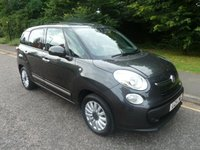 2014 FIAT 500L MPW 1.2 MULTIJET POP STAR DUALOGIC 5d AUTO 85 BHP £8750.00