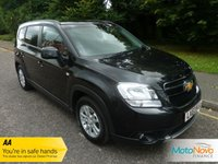 USED 2013 63 CHEVROLET ORLANDO 1.8 LT 5d AUTO 139 BHP GREAT VALUE ONE LADY OWNED ORLANDO AUTOMATIC WITH SEVEN SEATS, CLIMATE CONTROL, CRUISE CONTROL, ALLOY WHEELS AND CHEVROLET SERVICE HISTORY