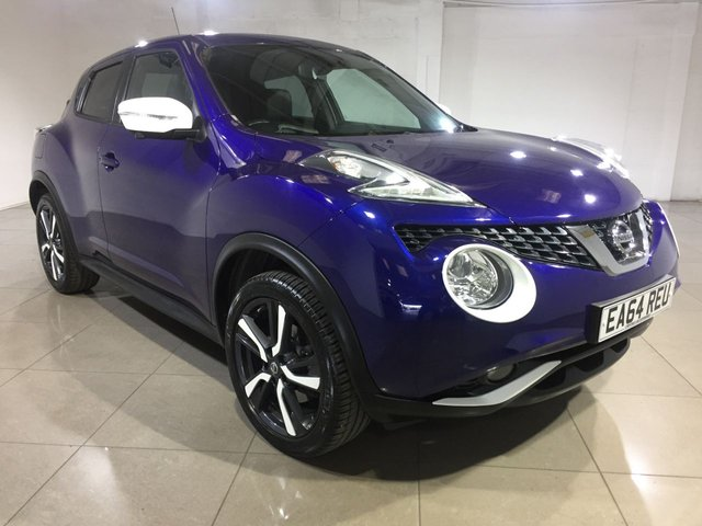 View our 2014 64 NISSAN JUKE 1.6 TEKNA DIG-T XTRONIC 5d AUTO 190 BHP
