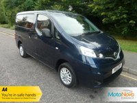 USED 2014 14 NISSAN NV200 1.5 DCI ACENTA COMBI 5d 90 BHP VERY NICE ONE OWNER NISSAN NV 200 WITH SEVEN SEATS, AIR CONDITIONING, ALLOY WHEELS AND NISSAN SERVICE HISTORY
