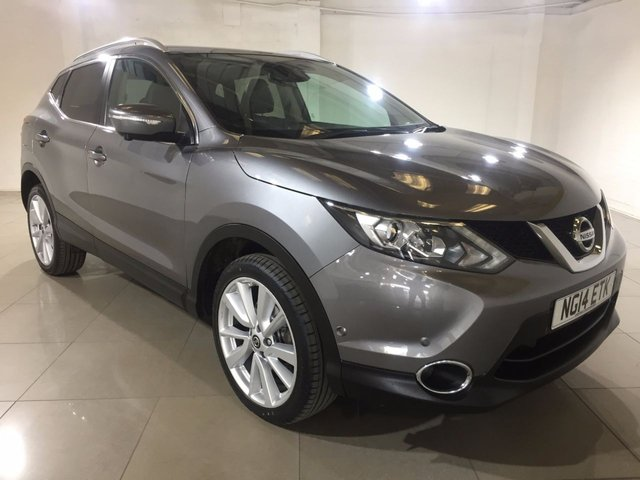 View our 2014 14 NISSAN QASHQAI 1.5 DCI TEKNA 5d 108 BHP