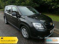 USED 2012 12 CHEVROLET ORLANDO 1.8 LT 5d AUTO 141 BHP VERY NICE LADY OWNED ORLANDO AUTOMATIC WITH SEVEN SEATS, AIR CONDITIONING, ALLOY WHEELS AND SERVICE HISTORY
