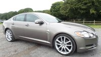 USED 2009 09 JAGUAR XF 2.7 PREMIUM LUXURY V6 4d AUTO 204 BHP SERVICE RECEIPTS AVAILABLE,SATELLITE NAVIGATION,2 X KEYS, FULL LEATHER TRIM, PARKING SENSORS, CLIMATE CONTROL