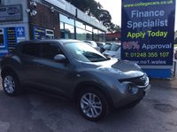 USED 2012 62 NISSAN JUKE 1.5 TEKNA DCI 5d 110 BHP, only 31000 miles *****FINANCE AVAILABLE APPLY ONLINE******