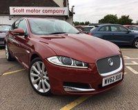 2012 JAGUAR XF 2.2 D PREMIUM LUXURY 4d AUTO 190 BHP £16000.00