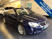 USED 2009 59 VOLKSWAGEN EOS 2.0 SE TDI DSG 2d AUTO 138 BHP 1 PRIVATE OWNER, FULL VW SERVICE HISTORY , GLASS ROOF