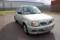 USED 2002 02 NISSAN MICRA 1.0 VIBE S 16V 3d 59 BHP NOT AVAILABLE ON FINANCE.