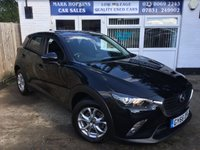 USED 2016 66 MAZDA CX-3 1.5 D SE-L NAV 5d 104 BHP 4940 MILES ONLY FSH...ONE LADY OWNER...EXCELLENT CONDITION