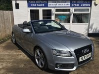 USED 2009 59 AUDI A5 3.0 TDI QUATTRO S LINE 2d AUTO 240 BHP 58945 MILES FSH  HIGH SPEC MODEL BEAUTIFUL COLOUR COMBINATION