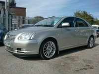 USED 2003 53 TOYOTA AVENSIS 2.0 T SPIRIT VVT-I 5d AUTO 145 BHP AUTOMATIC / FULL LEATHER INTERIOR MOT TO JULY 2018