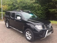 USED 2009 59 NISSAN NAVARA 2.5 DCI TEKNA NO VAT AUTO 169 BHP 6 MONTHS PARTS+ LABOUR WARRANTY+AA COVER