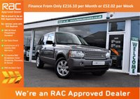USED 2007 57 LAND ROVER RANGE ROVER VOGUE 3.6 TDV8 VOGUE 5d AUTO 272 BHP FINANCE FROM ONLY £216.10pm