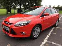 USED 2014 FORD FOCUS 1.6 TITANIUM NAVIGATOR ECONETIC TDCI START/STOP 5d 104 BHP EXCELLENT CONDITION THROUGHOUT, EXCELLENT DRIVER