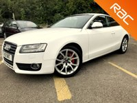 USED 2008 AUDI A5 2.7 TDI SPORT 3d AUTO SAT NAV, LEATHER, SPOILER, 6 SERVICES 6 SERVICES, STUNNING SPEC, EXCELLENT DRIVE,