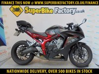 USED 2016 16 HONDA CBR650  GOOD & BAD CREDIT ACCEPTED, OVER 500+ BIKES