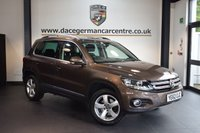 USED 2012 62 VOLKSWAGEN TIGUAN 2.0 ESCAPE TDI BLUEMOTION TECHNOLOGY 4MOTION 5DR 138 BHP + FULL VW SERVICE HISTORY + 1 OWNER FROM NEW + SPORT SEATS + FULL GLASS ROOF + DAB RADIO + AUXILIARY PORT + PARKING SENSORS + 17 INCH ALLOY WHEELS +