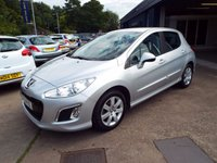USED 2012 12 PEUGEOT 308 1.4 ACTIVE 5d 98 BHP FULL SERVICE HISTORY