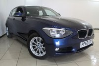 USED 2014 63 BMW 1 SERIES 2.0 120D XDRIVE SE 5DR 181 BHP AIR CONDITIONING + BLUETOOTH + CRUISE CONTROL + MULTI FUNCTION WHEEL + 16 INCH ALLOY WHEELS