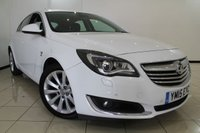 USED 2015 15 VAUXHALL INSIGNIA 2.0 ELITE CDTI ECOFLEX S/S 5DR 160 BHP FULL VAUXHALL SERVICE HISTORY + CLIMATE CONTROL + PARKING SENSOR + BLUETOOTH + CRUISE CONTROL + MULTI FUNCTION WHEEL + 18 INCH ALLOY WHEELS