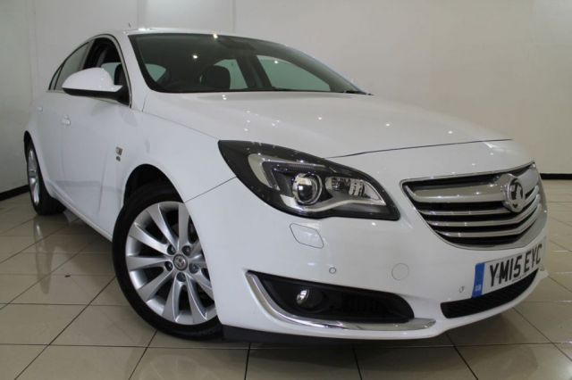 View our 2015 15 VAUXHALL INSIGNIA 2.0 ELITE CDTI ECOFLEX S/S 5DR 160 BHP