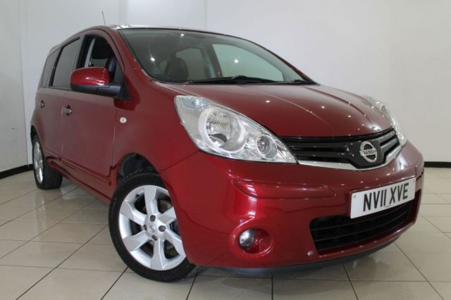 View our 2011 11 NISSAN NOTE 1.6 TEKNA 5DR 110 BHP
