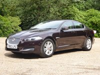 USED 2014 63 JAGUAR XF 3.0 D V6 LUXURY 4d AUTO 240 BHP