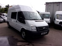 USED 2012 61 FORD TRANSIT 2.4 350 H/R 1d 115 BHP
