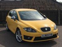 2010 SEAT LEON 2.0 FR CR TDI 5d 168 BHP £7495.00