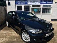 2010 BMW 1 SERIES 2.0 116I M SPORT 3d AUTO 121 BHP £8995.00