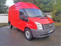 USED 2013 13 FORD TRANSIT 350 125 BHP LONG HI/ROOF 5 DOOR ***70 VANS IN STOCK***