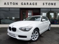 2013 BMW 1 SERIES 1.6 114D ES 5d **1 OWNER * FSH** £9750.00
