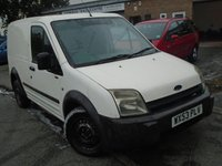2003 FORD TRANSIT CONNECT 1.8 T220 SWB TDCI 1d 90 BHP £1395.00