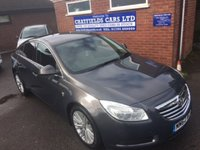 USED 2013 62 VAUXHALL INSIGNIA 2.0 SE CDTI 5d 157 BHP 2013, HALF LEATHER, FULL SERVICE HISTORY