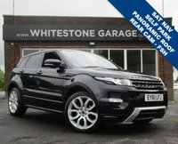 USED 2011 61 LAND ROVER RANGE ROVER EVOQUE 2.2 SD4 DYNAMIC LUX 5d 190 BHP ULTIMATE SPEC WITH TV, NAV, REAR CAMERA, SELF PARK, PANORAMIC ROOF, MEMORY SEATS. FSH