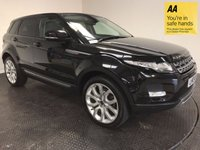 USED 2013 13 LAND ROVER RANGE ROVER EVOQUE 2.2 SD4 PURE TECH 5d AUTO 190 BHP FSH-NAV-LEATHER-BLUETOOTH-ALLOYS