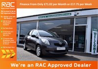 USED 2008 08 TOYOTA YARIS 1.3 TR MM 5d AUTO 86 BHP FINANCE FROM ONLY £71.02pm