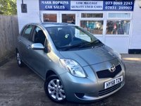 USED 2008 58 TOYOTA YARIS 1.3 TR MM 5d AUTO 86 BHP 31472 MILES FSH  ONE LOCAL FAMILY OWNER  EXCELLENT CONDITION