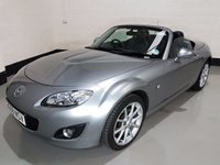 USED 2009 59 MAZDA MX-5 2.0 I ROADSTER SPORT TECH 2d 158 BHP 1 Owner/Service History/Heated Leather Seats/Bluetooth