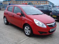 USED 2009 59 VAUXHALL CORSA 1.2 ACTIVE 5d 80 BHP