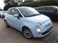 2008 FIAT 500 1.2 LOUNGE 3d 69 BHP £3995.00