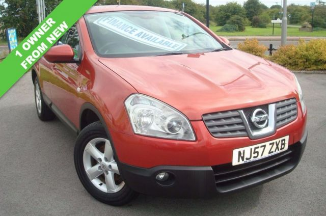 2007 57 NISSAN QASHQAI 2.0 ACENTA 5d 140 BHP 1 OWNER FROM NEW