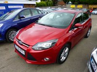 USED 2012 61 FORD FOCUS 1.6 ZETEC 5d 124 BHP THIS VEHICLE IS AT SITE 1 - TO VIEW CALL US ON 01903 892224