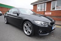 USED 2014 14 BMW 4 SERIES 2.0 420D SPORT 2d 181 BHP 1 OWNER + FULL BMW SERVICE HISTORY TO 108K MILES
