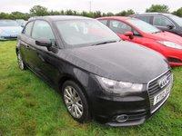 2012 AUDI A1 1.4 TFSI SPORT 3d 122 BHP £9995.00