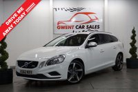 USED 2013 62 VOLVO V60 2.0 D3 R-DESIGN NAV 5d 134 BHP STUNNING EXAMPLE THROUGHOUT