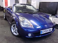 2004 TOYOTA MR2 1.8 ROADSTER 2d 138 BHP £3999.00